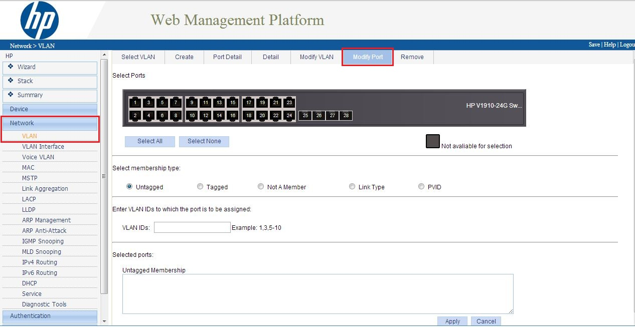 How To Configure Layer 3 Static Routes Amp Vlan S On Hp