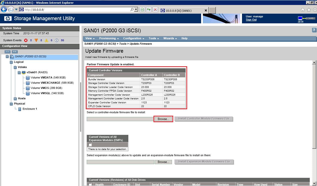 Fixing hp storageworks p2000 g3 msa san | kc's blog.