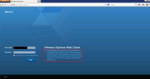 Web Client Error