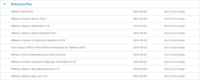 vSphere 5.5