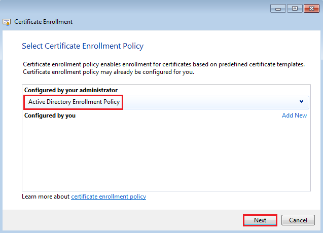 How to replace horizon view connection security server select your certificate template mines called horizonview then click on more information is required to enroll for this certificate yelopaper Image collections