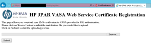 VASA URL Config