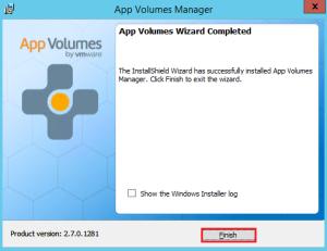 App Volumes 10