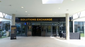 The Solutions Exchange Main Entrance