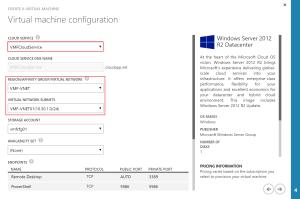 VM Configuration No Subnet 02